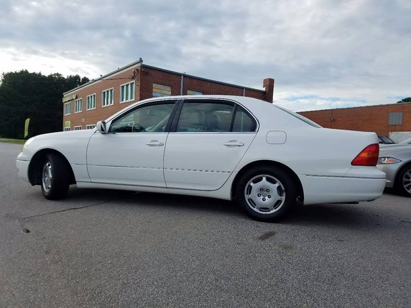 2002 Lexus LS 430 for sale at Euro Motors LLC in Raleigh NC