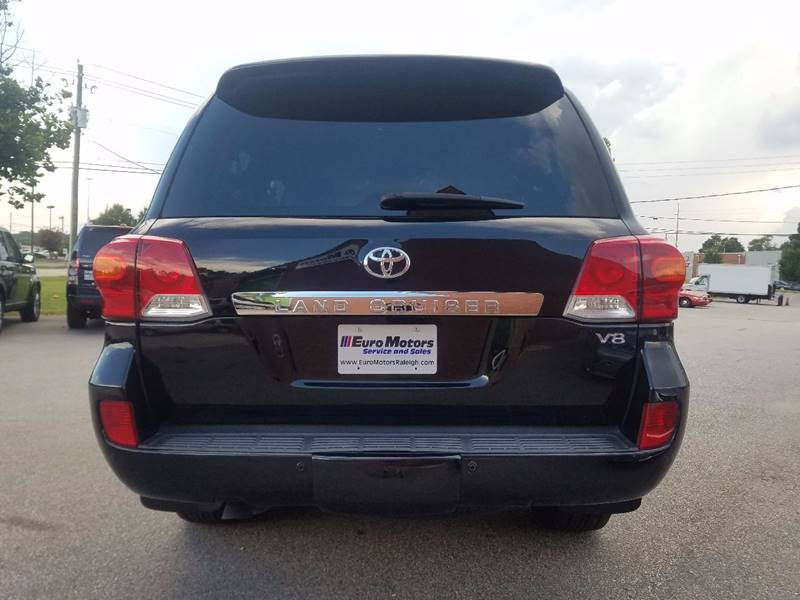 2013 Toyota Land Cruiser for sale at Euro Motors LLC in Raleigh NC