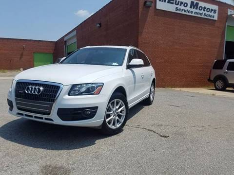 2012 Audi Q5 for sale at Euro Motors LLC in Raleigh NC