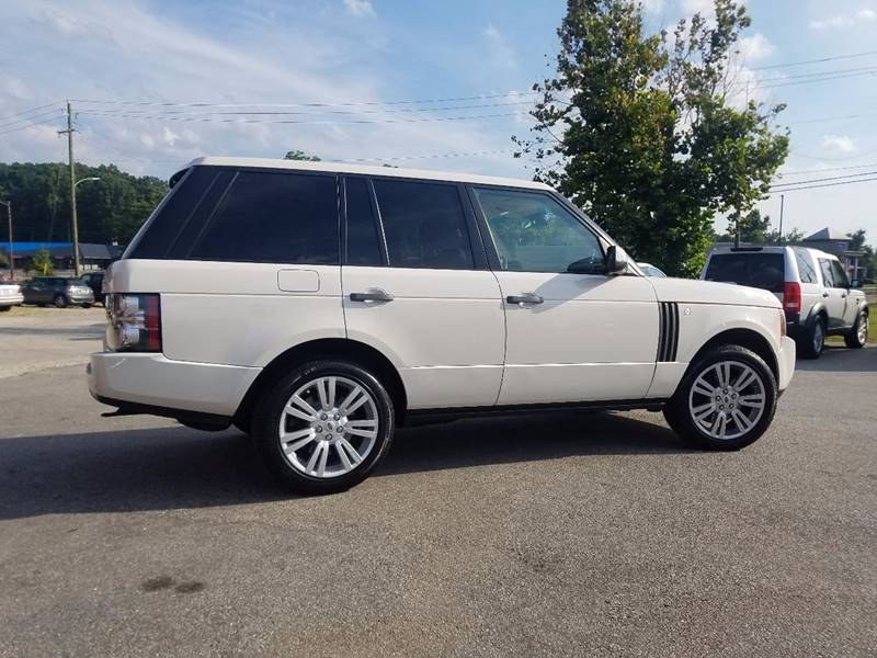 2010 Land Rover Range Rover for sale at Euro Motors LLC in Raleigh NC