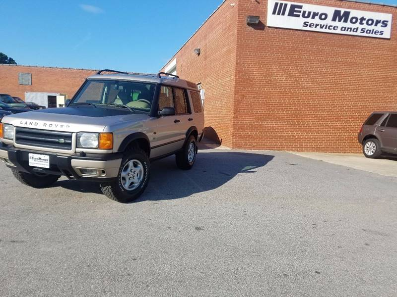 2001 Land Rover Discovery Series II for sale at Euro Motors LLC in Raleigh NC