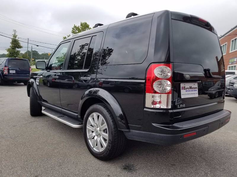 2012 Land Rover LR4 for sale at Euro Motors LLC in Raleigh NC