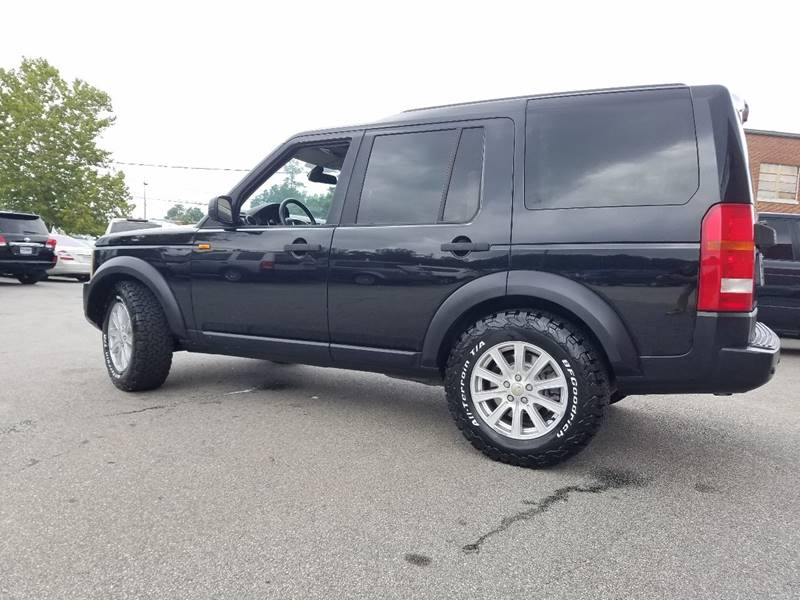 2007 Land Rover LR3 for sale at Euro Motors LLC in Raleigh NC