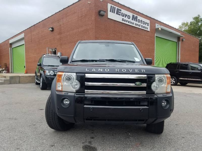 2006 Land Rover LR3 for sale at Euro Motors LLC in Raleigh NC