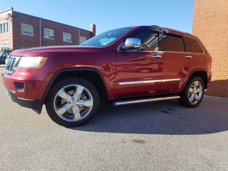 2012 Jeep Grand Cherokee for sale at Euro Motors LLC in Raleigh NC
