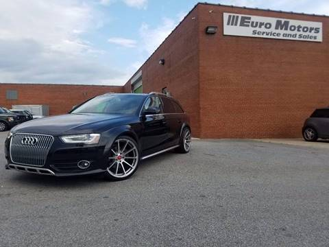 2013 Audi Allroad for sale at Euro Motors LLC in Raleigh NC