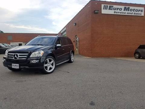 2009 Mercedes-Benz GL-Class for sale at Euro Motors LLC in Raleigh NC