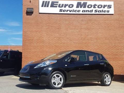 2012 Nissan LEAF for sale in Raleigh, NC
