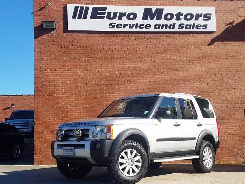 2005 Land Rover Lr3 Se In Raleigh Nc Euro Motors Llc
