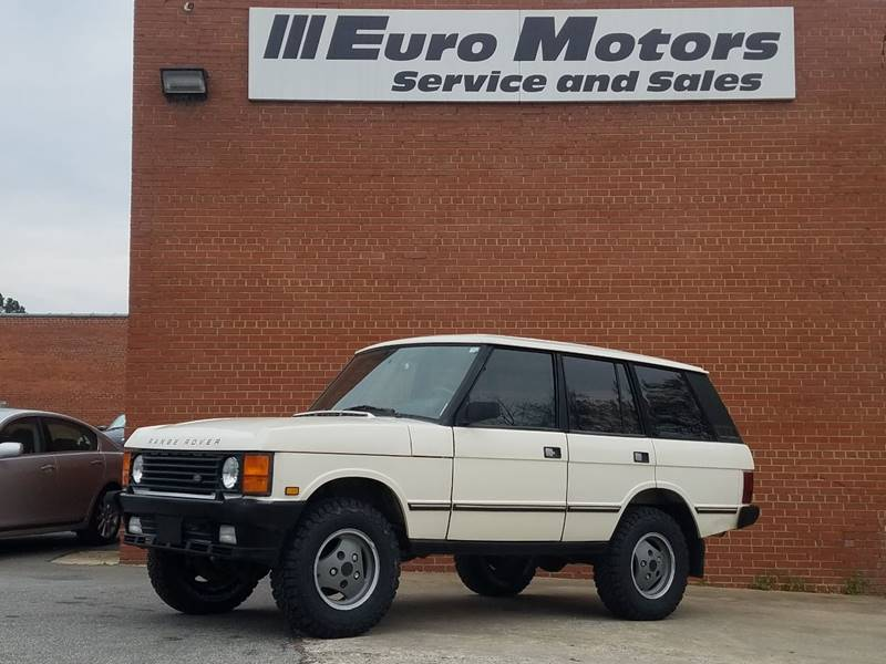 1990 Land Rover Range Rover County In Raleigh NC - Euro Motors LLC