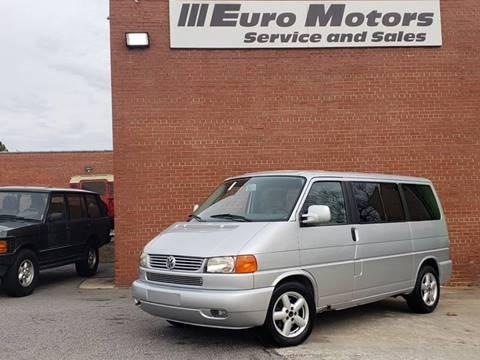 Volkswagen Eurovan For Sale Carsforsale Com 174