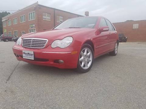 2004 Mercedes-Benz C-Class for sale at Euro Motors LLC in Raleigh NC