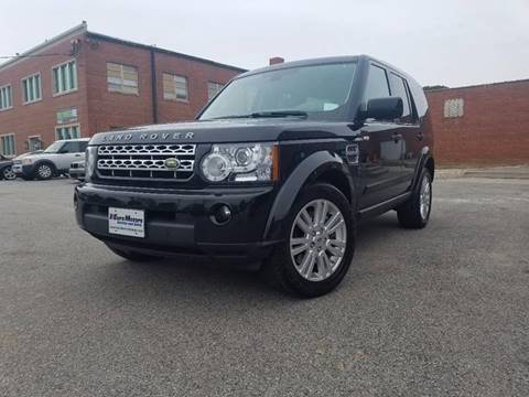 2011 Land Rover LR4 for sale at Euro Motors LLC in Raleigh NC