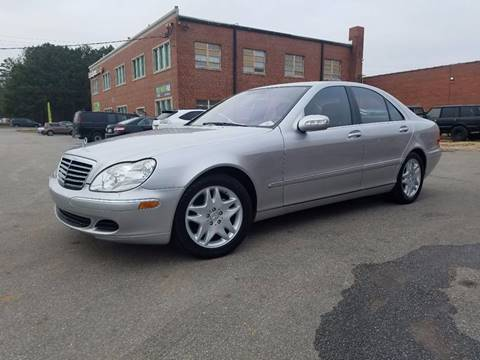 2006 Mercedes-Benz S-Class for sale at Euro Motors LLC in Raleigh NC
