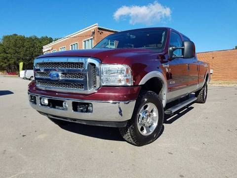 2005 Ford F-250 Super Duty for sale at Euro Motors LLC in Raleigh NC