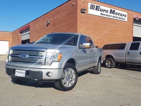 2010 Ford F-150 for sale at Euro Motors LLC in Raleigh NC