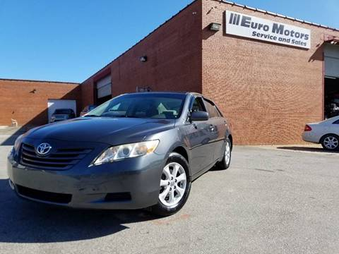 2008 Toyota Camry for sale at Euro Motors LLC in Raleigh NC