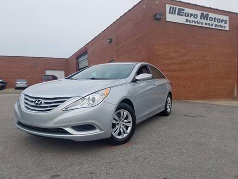 2012 Hyundai Sonata for sale at Euro Motors LLC in Raleigh NC