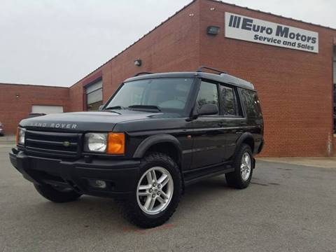2000 Land Rover Discovery Series II for sale at Euro Motors LLC in Raleigh NC