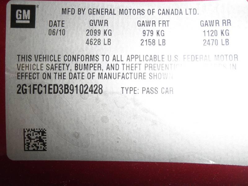 2011 Chevrolet Camaro LT 2dr Coupe w/2LT - Lexington TN