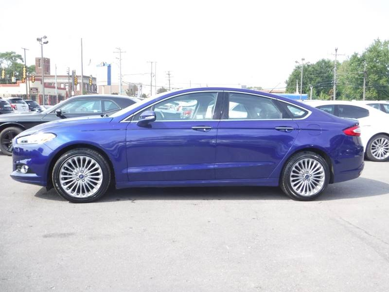 2016 Ford Fusion for sale at Car Source in Detroit MI