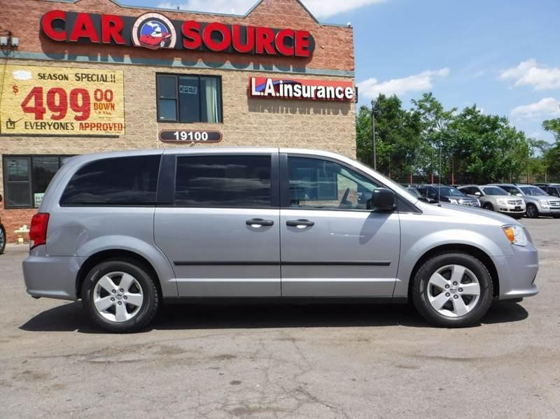 2014 Dodge Grand Caravan for sale at Car Source in Detroit MI