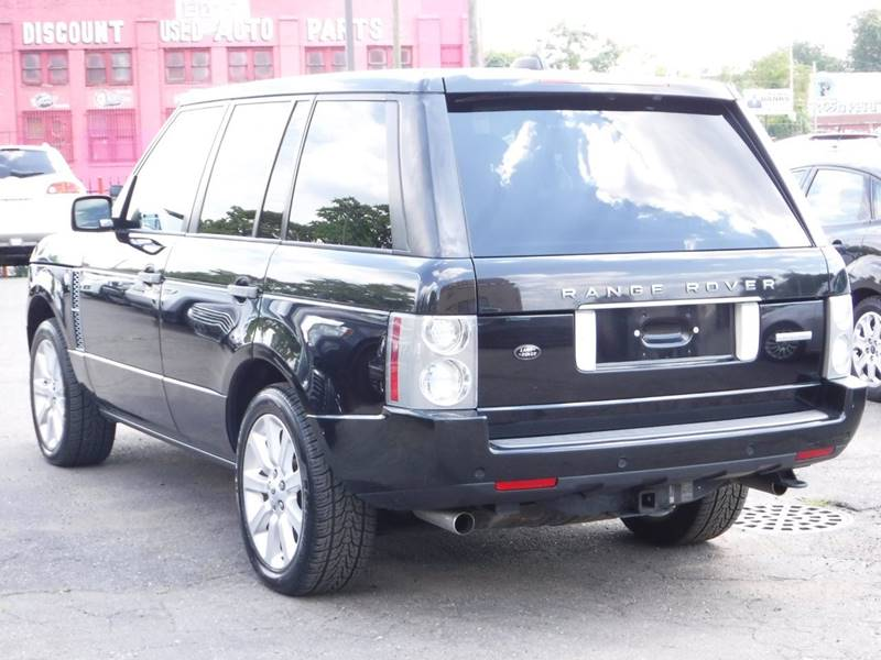 2008 Land Rover Range Rover for sale at Car Source in Detroit MI