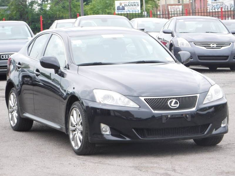 2008 Lexus Is 250 car for sale in Detroit
