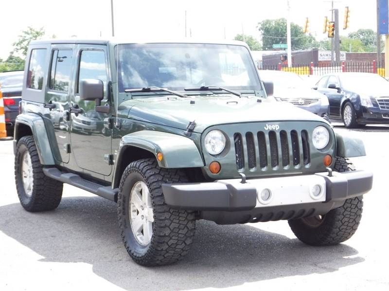 2008 Jeep Wrangler Unlimited for sale at Car Source in Detroit MI