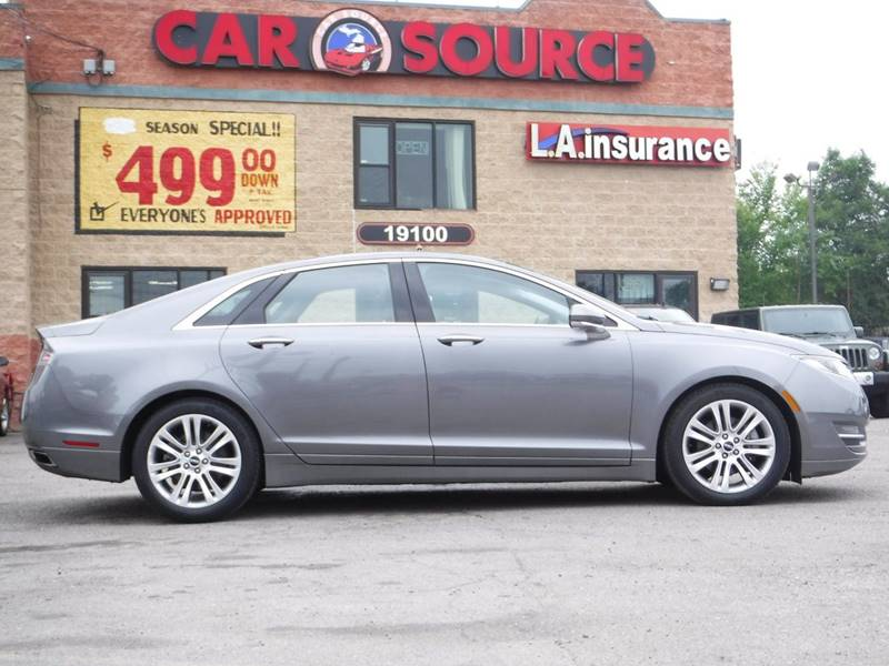 2014 Lincoln MKZ for sale at Car Source in Detroit MI