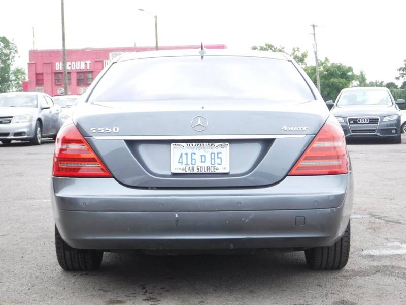 2007 Mercedes-Benz S-Class for sale at Car Source in Detroit MI