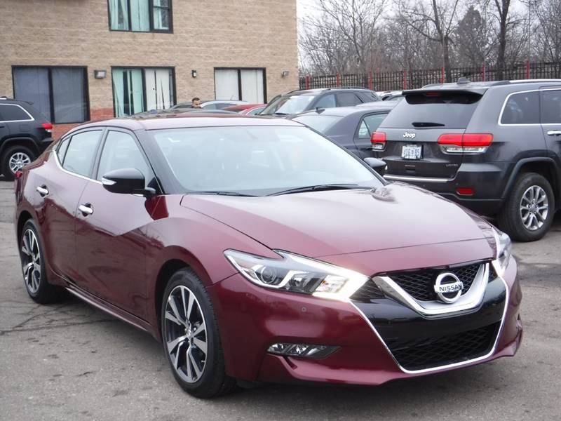 car source detroit mi  2017 Nissan Maxima 3.5 SV In Detroit, MI - Car Source