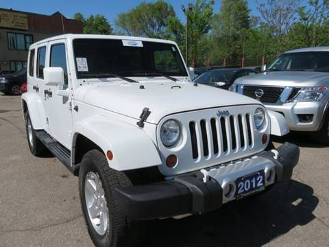 2012 Jeep Wrangler Unlimited for sale in Detroit, MI