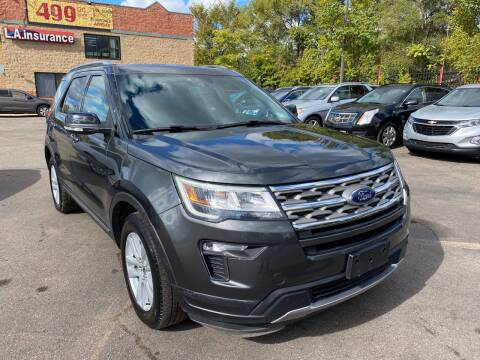2018 Ford Explorer for sale at Car Source in Detroit MI