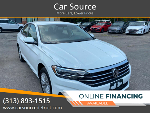 2019 Volkswagen Jetta for sale at Car Source in Detroit MI