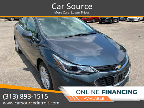 2018 Chevrolet Cruze for sale at Car Source in Detroit MI
