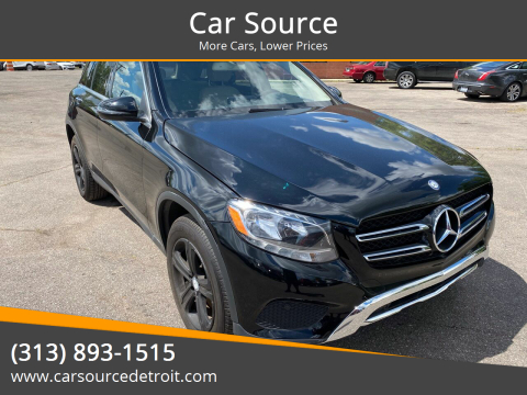2016 Mercedes-Benz GLC for sale at Car Source in Detroit MI