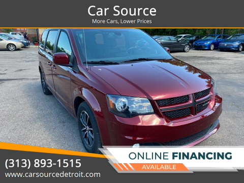 2019 Dodge Grand Caravan for sale at Car Source in Detroit MI