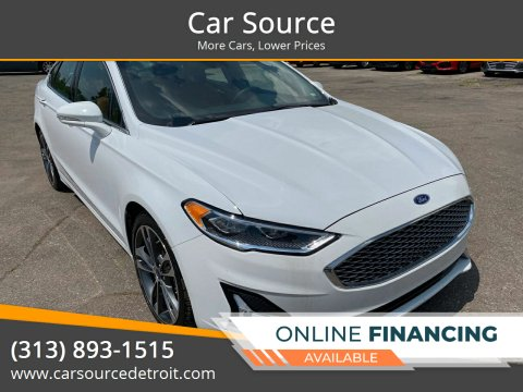 2019 Ford Fusion for sale at Car Source in Detroit MI