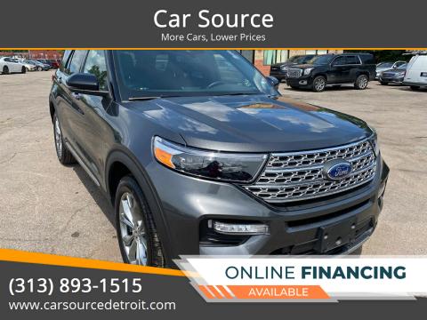 2020 Ford Explorer for sale at Car Source in Detroit MI