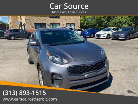 2017 Kia Sportage for sale at Car Source in Detroit MI