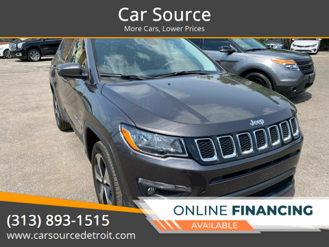 2017 Jeep Compass for sale at Car Source in Detroit MI