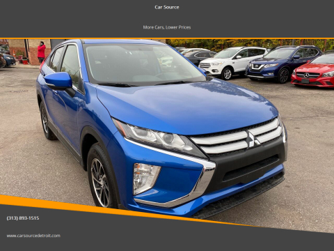 2020 Mitsubishi Eclipse Cross for sale at Car Source in Detroit MI