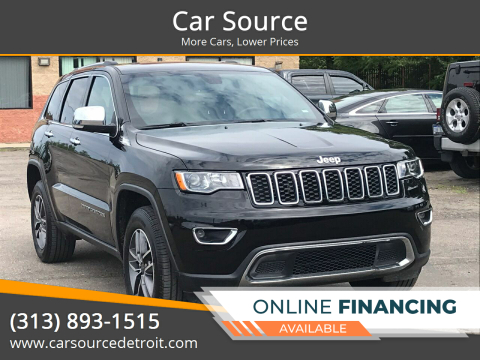 2020 Jeep Grand Cherokee for sale at Car Source in Detroit MI