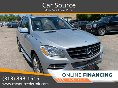 2014 Mercedes-Benz M-Class for sale at Car Source in Detroit MI