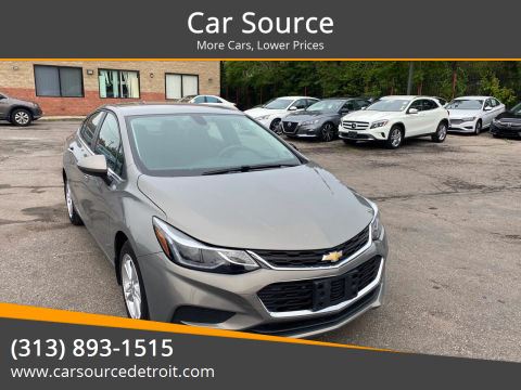 2017 Chevrolet Cruze for sale at Car Source in Detroit MI