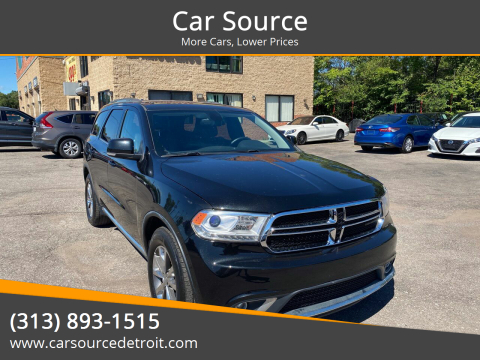 2015 Dodge Durango for sale at Car Source in Detroit MI
