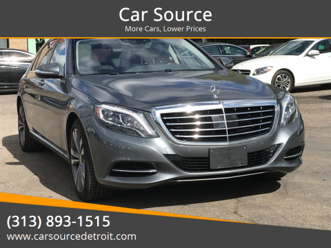 2017 Mercedes-Benz S-Class for sale at Car Source in Detroit MI