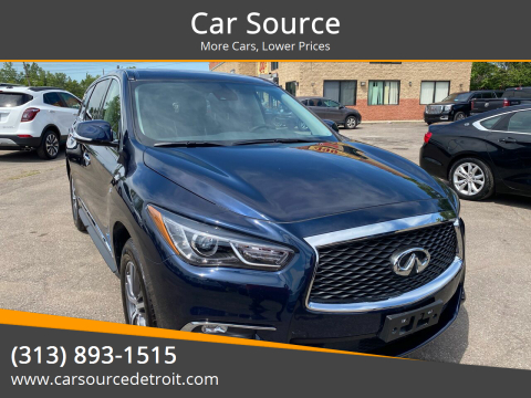 2020 Infiniti QX60 for sale at Car Source in Detroit MI