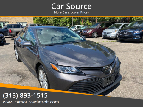 2020 Toyota Camry for sale at Car Source in Detroit MI